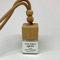 Парфюм-куб белый в автомобиль масляный Dolce Gabbana Light Blue for women 8ml