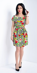 """Літнє плаття """"Лаура"""" розміри 44-46, 48-50"""