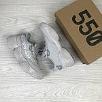 Женские кроссовки Adidas SPIY-550 (серые), фото 4