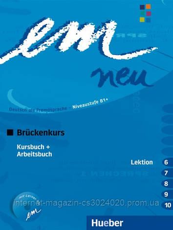 Em neu 2008 Brückenkurs, Kursbuch + Arbeitsbuch, Lektion 6–10 mit Arbeitsbuch-Audio-CD ISBN: 9783195516969, фото 2