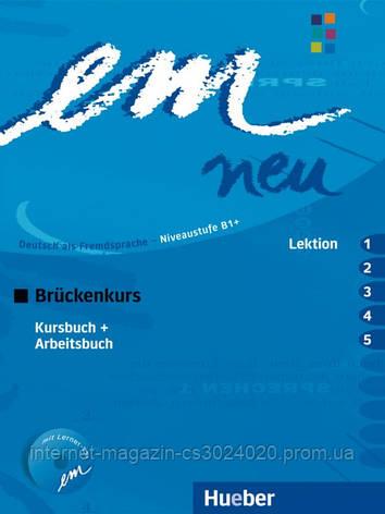 Em neu 2008 Brückenkurs, Kursbuch + Arbeitsbuch, Lektion 1–5 mit Arbeitsbuch-Audio-CD ISBN: 9783195416962, фото 2