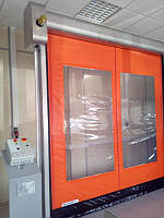 Распашные  ворота пленочные DoorHan SSD110/120 2,8м*2м