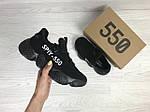 Женские кроссовки Adidas SPIY-550 (черные), фото 4