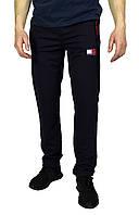 Темно-синие мужские спортивные трикотажные штаны TOMMY, фото 1