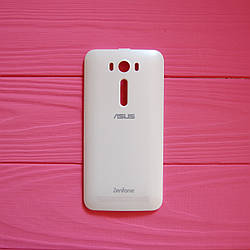 Задняя панель корпуса для Asus ZenFone 2 ZE500KL белая