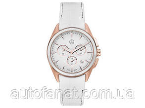 Женские наручные часы Mercedes-Benz Women's Chronograph Watch, Sport Fashion, pink gold/white (B66954170)