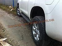 Боковые площадки Oригинал на Toyota LC 150 Prado 2009-2013