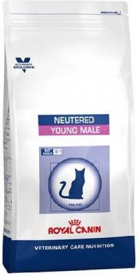 Лечебный корм Royal Canin для кастрированных котов Young Male S/O 1,5 кг