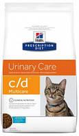 Лечебные корма для кошек Hill's C/D Хиллс при мочекаменной болезни 5 кг