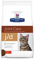 Hill's J/D Лечебные корма для кошек Хиллс при заболевании суставов 2 кг