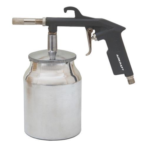 Пистолет пескоструйный пневматический  нижний металлический бачок AIRKRAFT PS-4A