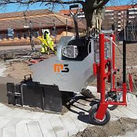Машина для установки бордюров и тротуаров M3 (Италия)