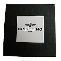 Подарочная упаковка - коробка для часов, Breitling (Брайтлинг), черный с белым ( код: IBW108-8 ), фото 1