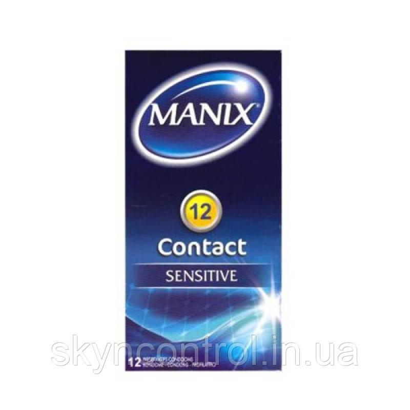 Презервативы MANIX CONTACT Sensetive (12 шт)