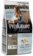 Pronature Holistic корм Пронатюр для взрослых кошек с лососем и рисом 5,44 кг