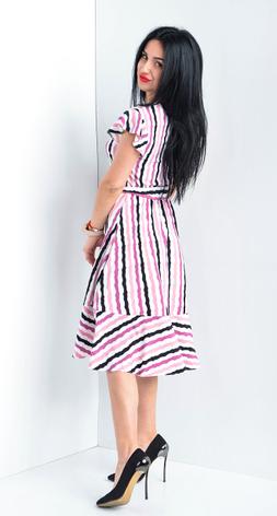 Легкое платье в полоску размеры 44,46,48,50,52, фото 2