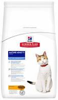 Hill's Mature Adult 7+ Active Longevity Корм Хиллс для пожилых кошек с курицей 10 кг