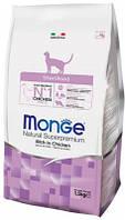 Monge (МонжеSterilised Rich in Chicken Сухой корм для стерилизованных кошек 10 кг