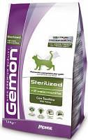 Gemon (Джемон) Sterilized Сухой корм для стерилизованных кошек с индейкой 20 кг