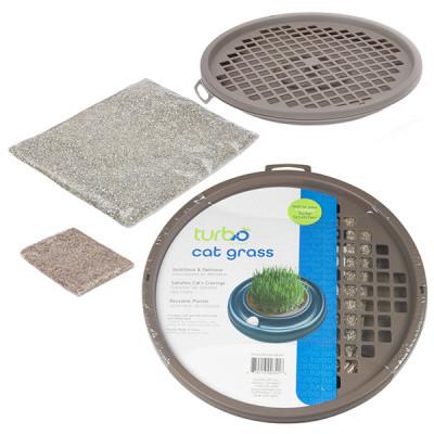 Coastal (Коастал) Turbo Cat Grass Трава для котов в контейнере