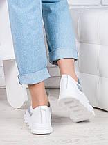 Летние белые кроссовки 6876-28, фото 3