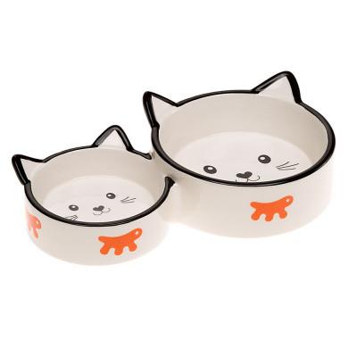Ferplast (Ферпласт) Venere Миска керамическая для кошек, Duo