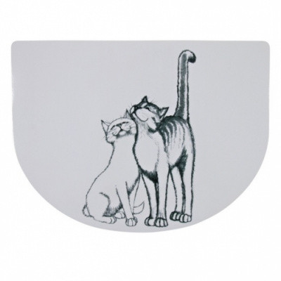 Коврики под миски для кота Тrixie (Трикси) Pussy Cat 40х30 см