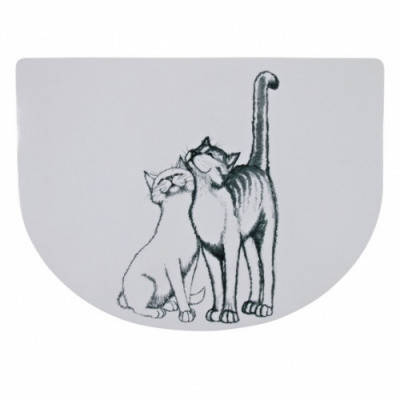 Коврики под миски для кота Тrixie (Трикси) Pussy Cat 40х30 см, фото 2