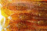 Силиконовая съедобная приманка Flat Worm (ЧервьПлоский), TBR-017, цвет 009, 8шт., фото 5