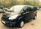 Вітровики, дефлектори вікон Ford Transit Custom 2012-> (ANV), фото 2
