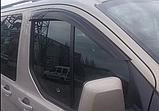 Вітровики, дефлектори вікон Ford Transit Custom 2012-> (ANV), фото 3