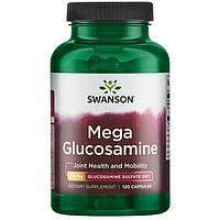 Swanson Premium Mega Glucosamine Glucosamine Sulfate 2KCl 750 мг 120 капс