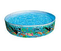 Детский каркасный бассейн Подводный мир Intex 58461 (183 х 38 см)