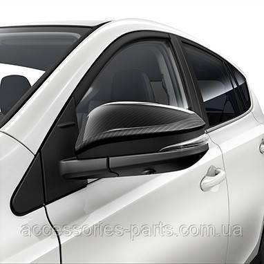 Карбоновые Накладки (крышки) на боковые зеркала Toyota Rav4 15 Новые Оригинальные