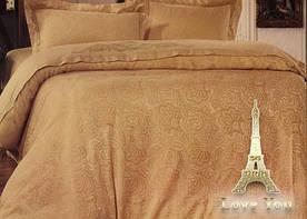 Постельное белье Love You жаккард с вышивкой - 1-14 евро