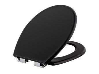 Сиденье  Ikea KULLARNA для унитаза, черное