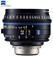 Объектив ZEISS CP.3 25mm T2.1 Compact Prime Lens (PL Mount, Feet) (2181-403)