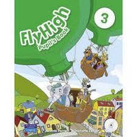 Fly High 3 Ukraine Pupil's Book with CD