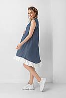Джинсова сукня для вагітних 1947 0210 розмір S, фото 1
