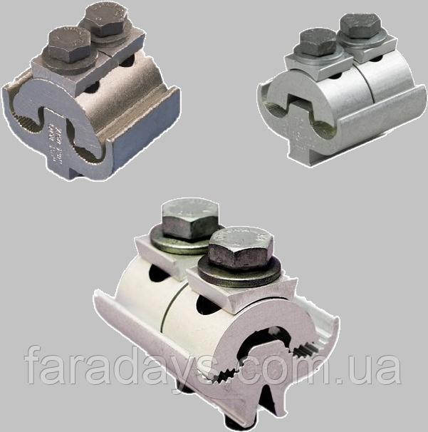 Плашковий з'єднувальний затискач SL Ensto (алюміній/сталь/мідь - алюміній/сталь/мідь)