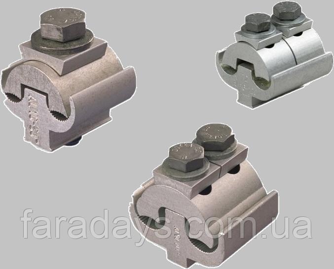 Плашковий з'єднувальний затискач SL Ensto (алюміній/сталь - алюміній/сталь)