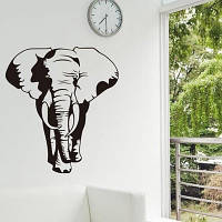 Наклейка виниловая Слон