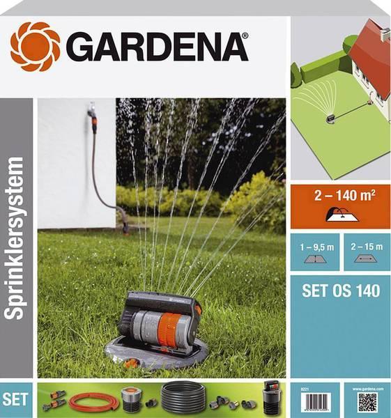 Аксесуари для водопостачання, поливу Gardena Набор для полива с дождевателем OS 140 (08221-20.000.00)