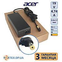 Зарядное устройство для ноутбука 5,5-1,7 mm 4,74A 19V Acer класс B нов