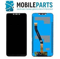 Дисплей для телефона Huawei Mate 20 Lite с сенсорным стеклом (Черный) Оригинал Китай