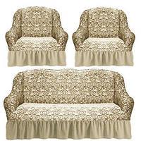 Комплекты двухспальные диван и два кресла
