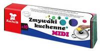 Губки для посуды MIDI 10шт. KUCHCIK