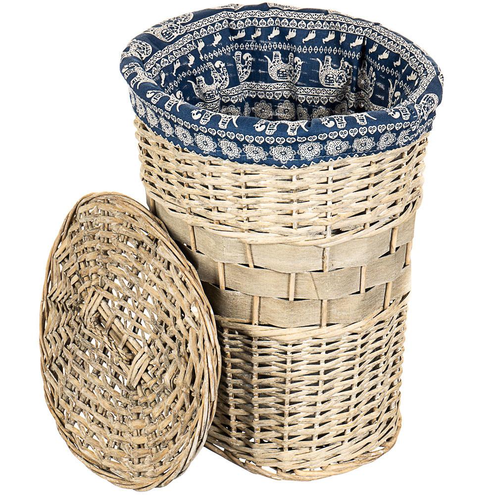 Корзина плетеная (56х50х40 см.), фото 1
