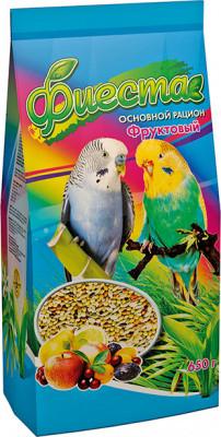 Корма для волнистых попугаев Фиеста Фруктовый 650 гр