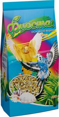 Корм Фиеста для волнистых попугаев Йод 650 гр